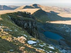 View from Clogwyn Du'r Arddu, aka Cloggy