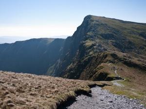 Rearward views to Craig Cau
