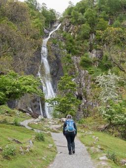 The impressive Aber Falls