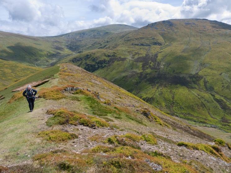 Foel Fras from the Foel Ganol ridge