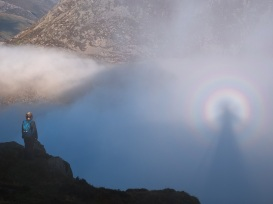 Brocken Spectre in all its glory