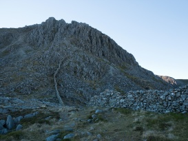 Bristly Ridge looms large ahead