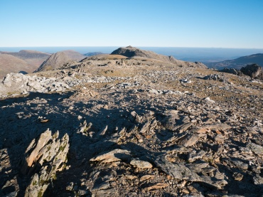 Glyder Fach viewed from Glyder Fawr's summit