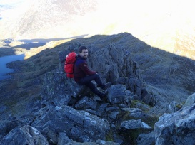 Quick break above Great Pinnacle Gap